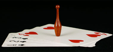 image of teeny club on cards